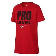 Boys 8-20 Nike Pro Level Tee