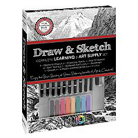 Art 101 Draw & Sketch Book Box