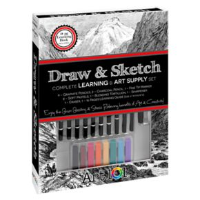 Art 101 Draw & Sketch Book Box