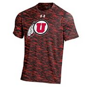 Men's Under Armour Utah Utes Tech Novelty Tee