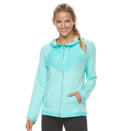 Women's Tek Gear® French Terry Hooded Jacket