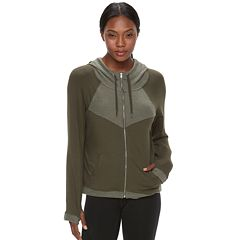 Women's Tek Gear® French Terry Hooded Jacket