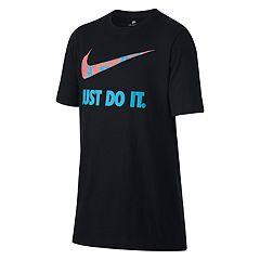 Boys 8-20 Nike Dri-FIT Splatter Swoosh Tee