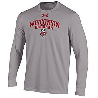 Men's Under Armour Wisconsin Badgers Long-Sleeve Tee
