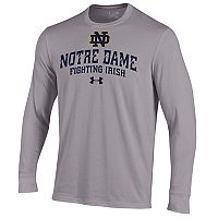 Men's Under Armour Notre Dame Fighting Irish Long-Sleeve Tee
