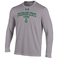 Men's Under Armour Colorado State Rams Long-Sleeve Tee
