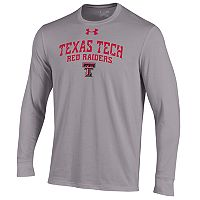 Men's Under Armour Texas Tech Red Raiders Long-Sleeve Tee