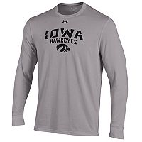 Men's Under Armour Iowa Hawkeyes Long-Sleeve Tee