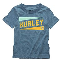 Toddler Boy Hurley Stadium Lines Logo Graphic Tee