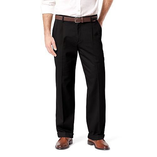 Men's Dockers® Stretch Easy Khaki D4 Relaxed-Fit Pleated Pants
