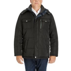 Men's London Fog Towne by London Fog Quilted Hooded Parka