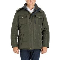 Men's Tower by London Fog Quilted Hooded Parka