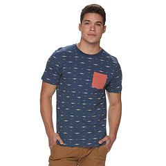 Men's Urban Pipeline® Print Pocket Tee