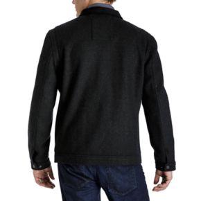 Men's Tower by London Fog Regular-Fit Wool-Blend Fleece Hipster Jacket