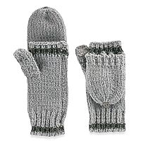 Women's SO® Chenille Flip-Top Mittens