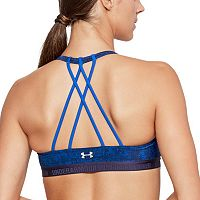 Under Armour Bras: Strappy Printed Low-Impact Sports Bra 1289468