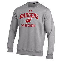 Men's Under Armour Wisconsin Badgers Rival Fleece Sweatshirt