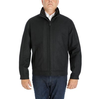 Men's Heritage by London Fog Wool-Blend Twill Hipster Jacket
