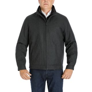 Men's Heritage by London Fog Wool-Blend Twill Hipster Jacket