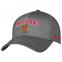Adult Under Armour Maryland Terrapins Stretch-Fit Cap
