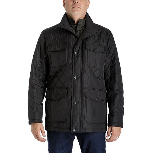 Men's Towne by London Fog Regular-Fit Quilted Field Coat