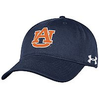 Adult Under Armour Auburn Tigers Adjustable Cap