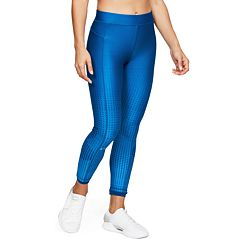 Women's Under Armour Heatgear Oversize Logo Ankle Leggings