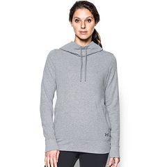 Women's Under Armour French Terry Open Back Hoodie