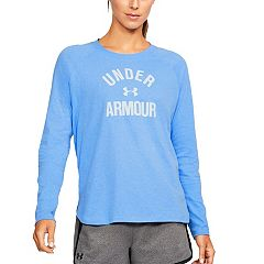 Women's Under Armour Tri-Blend Long Sleeve Graphic Tee