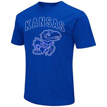 Men's Campus Heritage Kansas Jayhawks Logo Tee