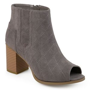 Journee Collection Henley Women's Peep Toe Boots