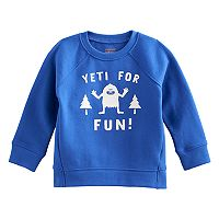 Baby Boy Jumping Beans® Hi Low Raglan Pullover Softest Sweatshirt