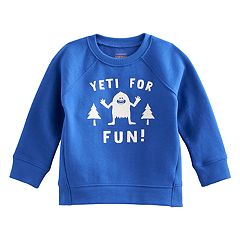 Baby Boy Jumping Beans® Hi Low Raglan Pullover Softest Sweatshirt