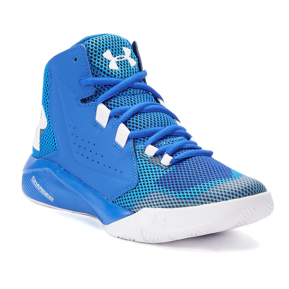 ac6a6285b99c Under Armour Torch Fade Mid Grade School Boys  Basketball Shoes