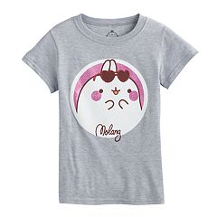 Girls 7-16 'Molang' Glitter Graphic Tee