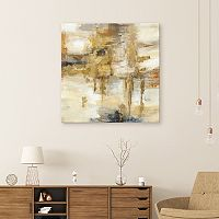 Artissimo Designs On The Bridge Canvas Wall Art