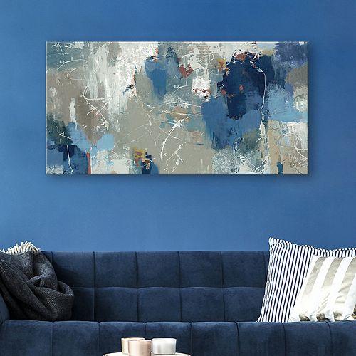 Artissimo Designs Fluttered Canvas Wall Art