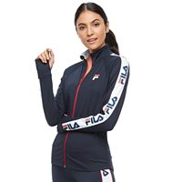 Women's FILA SPORT® Graphic Sleeve Track Jacket