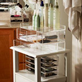 Honey-Can-Do iced Tall Acrylic Drawer