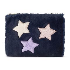 Fuzzy Star Pouch