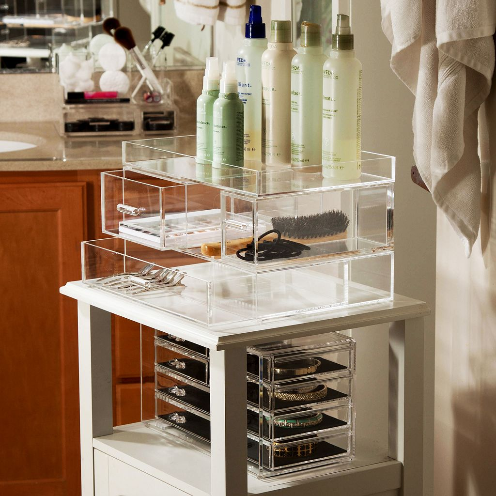 Honey-Can-Do iced Acrylic Drawer