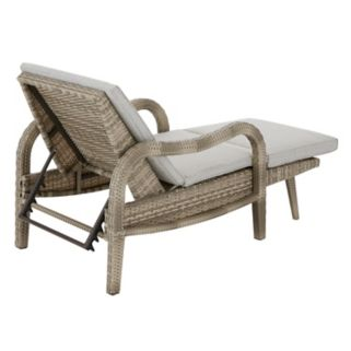 Madison Park Camden Adjustable Patio Chaise Lounge Chair