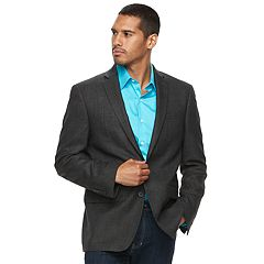Men's Van Heusen Slim-Fit Checked Flex Stretch Sport Coat