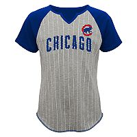 Girls 7-16 Majestic Chicago Cubs From the Stretch Tee