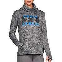 Women's Under Armour Fleece Twist Funnel-Neck Pullover Top