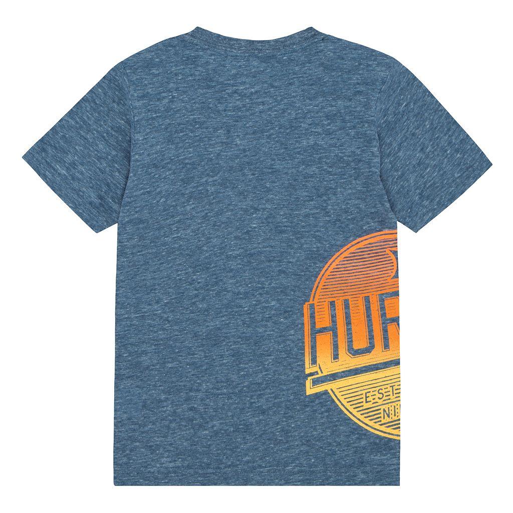 Boys 4-7 Hurley Wrap-Around Logo Graphic Tee