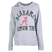 Women's Alabama Crimson Tide Distressed Sweatshirt