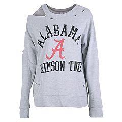 Women's Alabama Crimson Tide Distressed Sweatshirt