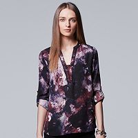 Women's Simply Vera Vera Wang Roll-Tab Blouse