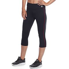 Women's FILA SPORT® Flat Piping Capri Leggings